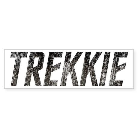Vintage Trekkie Sticker (Bumper)