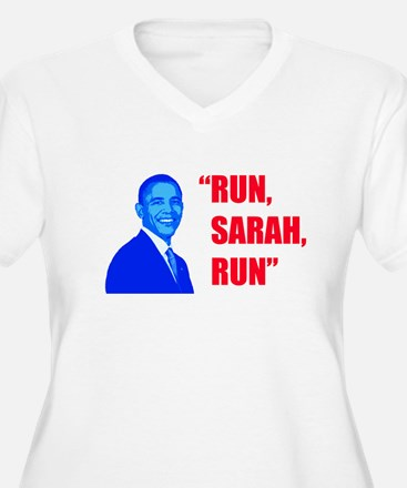 Obama says Run Sarah Run T-Shirt