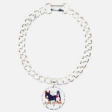 Patriotic Horse Bracelet