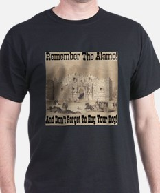 Remember The Alamo! Don't Forget To Hug Your Dog!