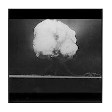 Trinity Atomic Bomb Tile Coaster