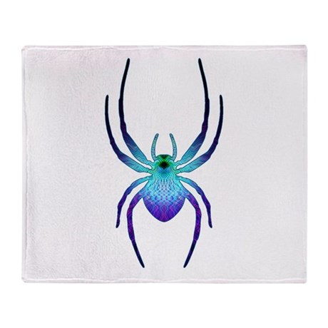 Itsy Bitsy Spider Throw Blanket