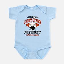 Lucky Strike Bowling Infant Bodysuit