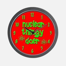 funny nuclear Wall Clock