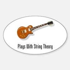 Plays With String Theory Decal