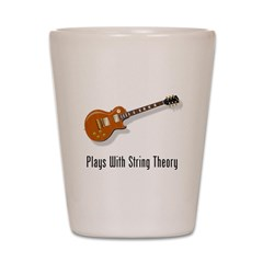 Plays With String Theory Shot Glass