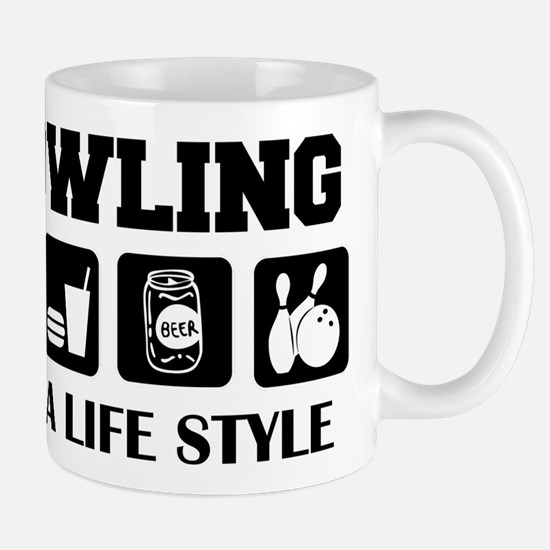 Funny Bowling Drink Beer Mug