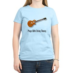 Plays With String Theory Women's Light T-Shirt