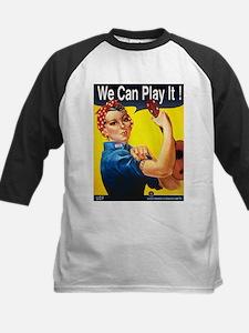 We Can Play It! Kids Baseball Jersey