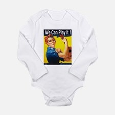 We Can Play It! Long Sleeve Infant Bodysuit