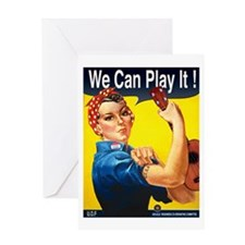 We Can Play It! Greeting Card