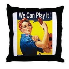 We Can Play It! Throw Pillow
