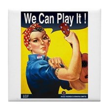 We Can Play It! Tile Coaster