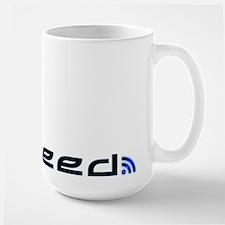 Blue RSS Feed Large Mug