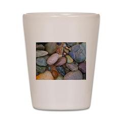 Beach Stones Shot Glass