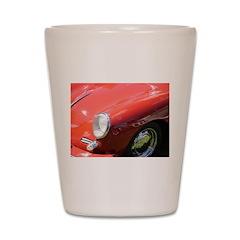 The Little Red Porsche Shot Glass