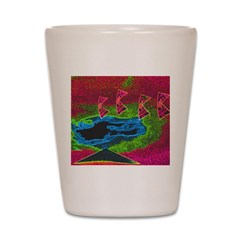 Quadtopia Sunrise Shot Glass
