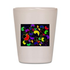 Jelly Bean Mice Gifts Shot Glass