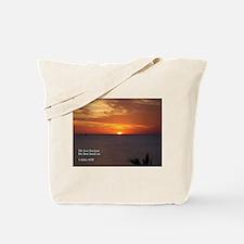 1 John 4:19 Tote Bag