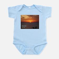 1 John 4:19 Infant Bodysuit