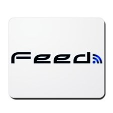 Blue RSS Feed Mousepad