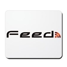 Orange RSS Feed Mousepad