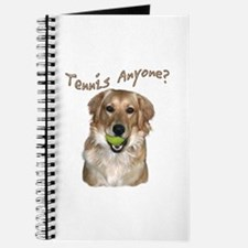 Golden Retriever Tennis Journal