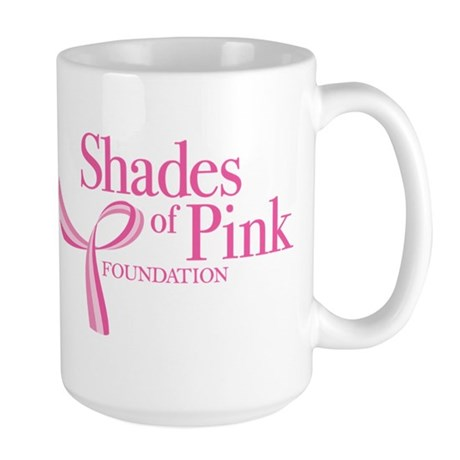 Shades of Pink Foundation Large Mug