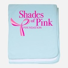 Shades of Pink Foundation baby blanket