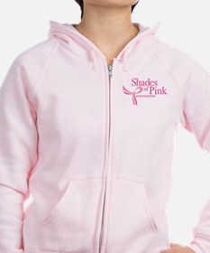 Shades of Pink Foundation Zip Hoodie