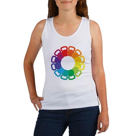 Kettlebell Color Wheel Women's Tank Top