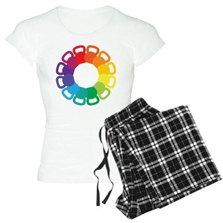 Kettlebell Color Wheel Women's Light Pajamas