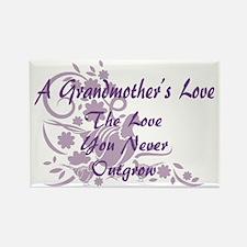 Grandmother Love Rectangle Magnet