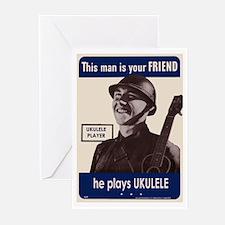 Your Ukulele Friend Greeting Cards (Pk of 20)