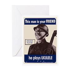 Your Ukulele Friend Greeting Card
