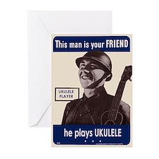 Your Ukulele Friend Greeting Cards (Pk of 10)