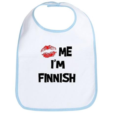 Kiss Me I'm Finnish Bib