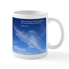 Hebrew 11:1 Mug