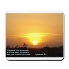 Ephesians 5:25 Mousepad