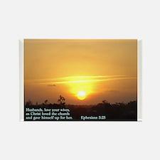 Ephesians 5:25 Rectangle Magnet