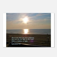 Ephesians 5:8 Postcards (Package of 8)