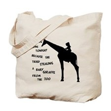 Giraffenapping Tote Bag