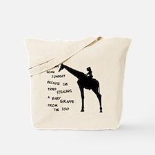 Giraffenapping Tote Bag