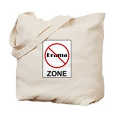 No Drama Zone Tote Bag