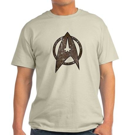 Vintage Starfleet Badge Light T-Shirt