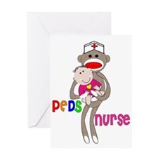 Pediatrics/PICU Nurse IV Greeting Card