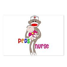 Pediatrics/PICU Nurse IV Postcards (Package of 8)