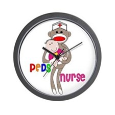 Pediatrics/PICU Nurse IV Wall Clock