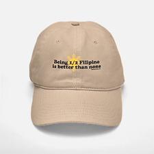 Half Filipino Baseball Baseball Cap