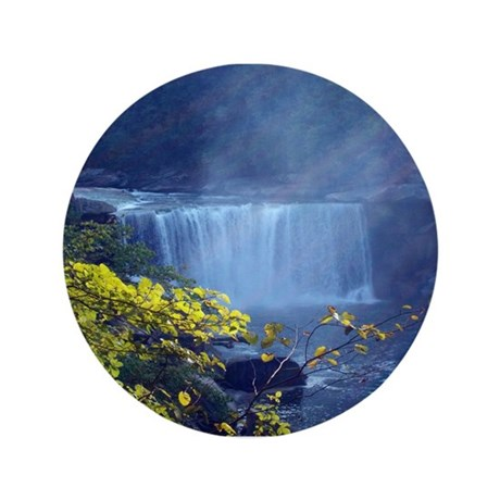 "Cumberland Falls, Ky 3.5"" Button"